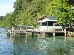 Sohano Island Bootssteg