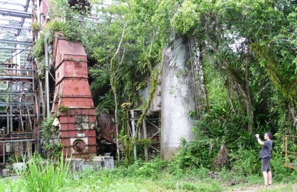 Hier wurde bis vor 20 Jahren der Strom für Arawa und Panguna erzeugt.