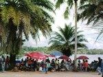 Digicel auf dem Markt in Buka