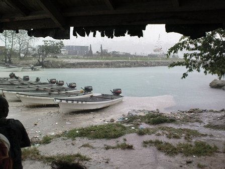 Ein Regentag in Buka